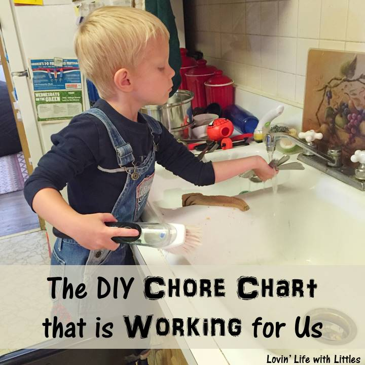 The DIY Chore Chart that is Working for Us