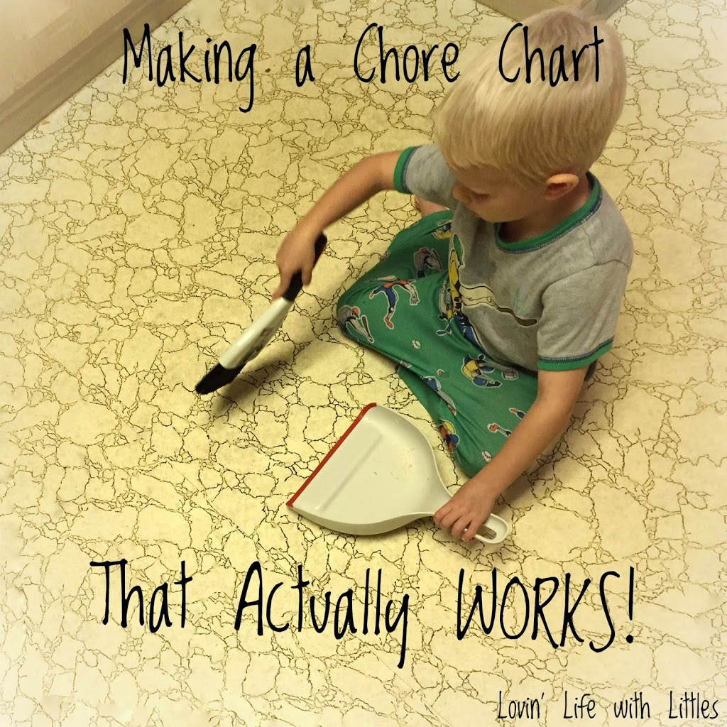 Making a Chore Chart that Actually Works