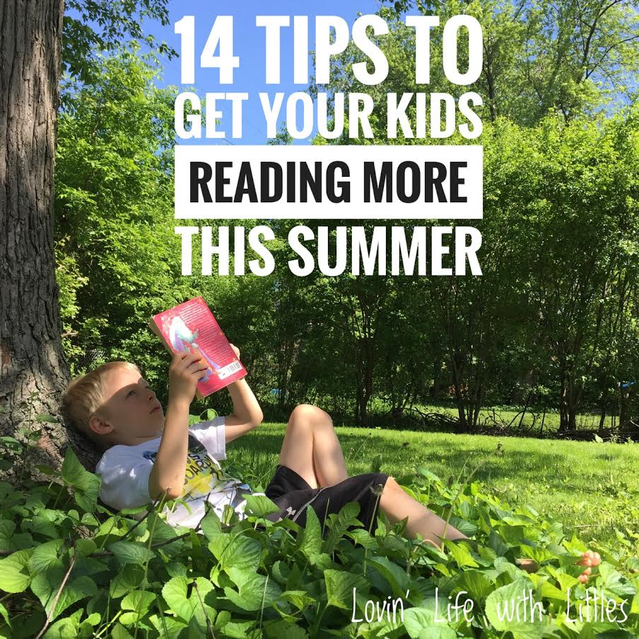 14 Tips to Get Your Kids Reading More This Summer