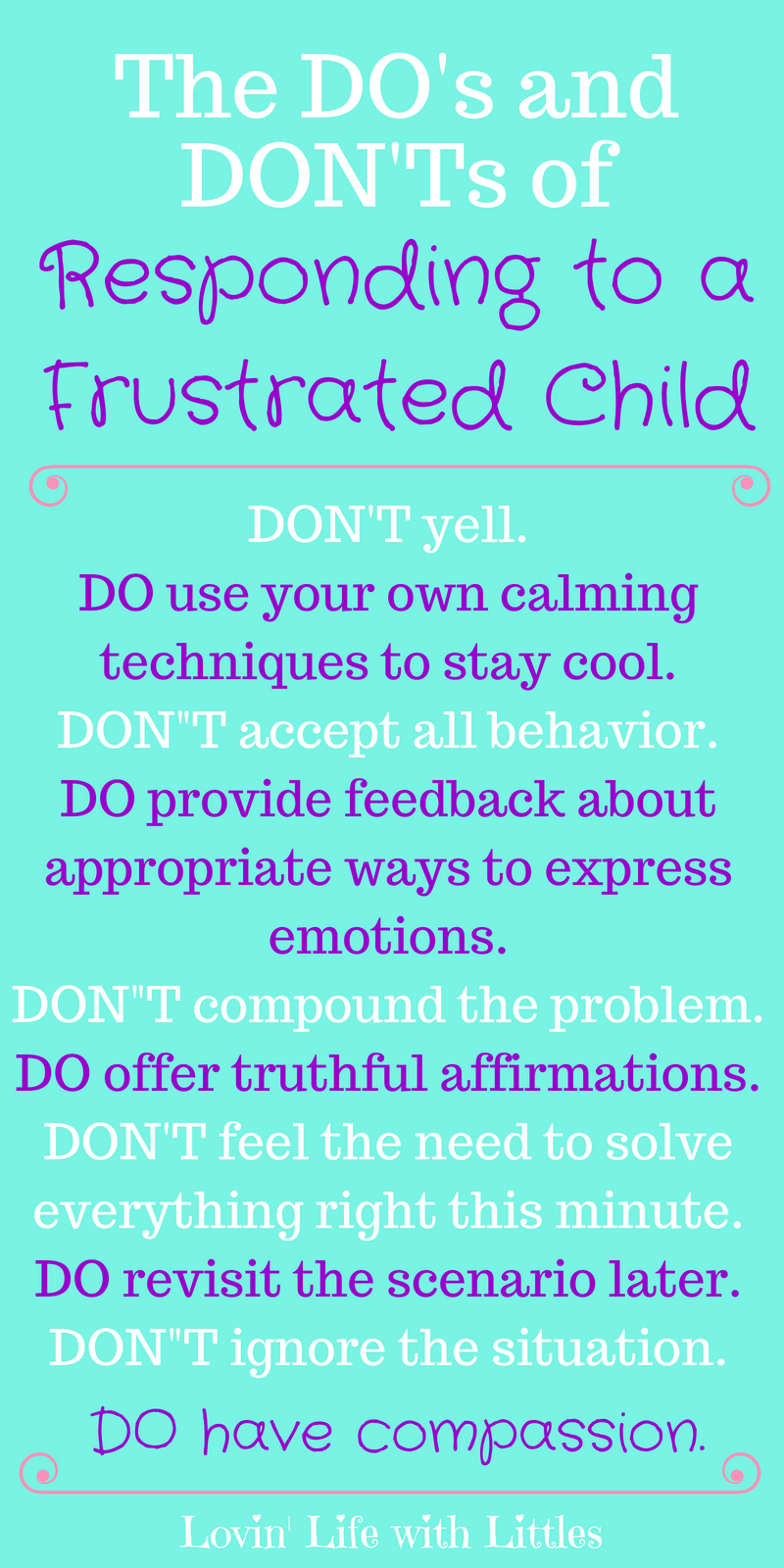 How to Help a Frustrated Child- Do's and Don'ts and More
